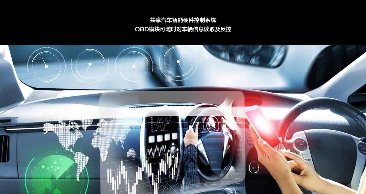 共享汽车智能硬件控制_车联网_游伴伴